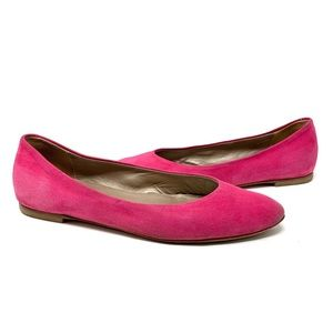 AGL Pink Suede Flats size 39